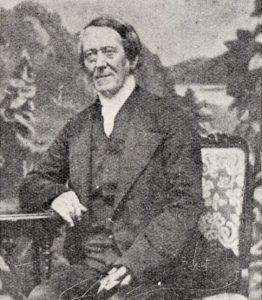 Ds. Andrew Murray sr. was van 1822 tot 1866 leraar van Graaff-Reinet.