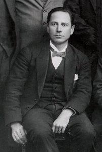 Prof. dr. B.B. Keet, leraar van 1916 tot 1919.