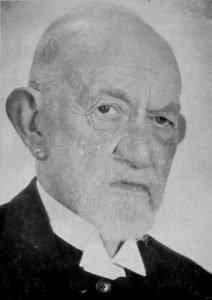 Ds. A.F. Louw., leraar van 1897 tot 1903, en 1908 tot 1912.
