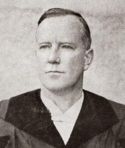 Ds. A.G.E. van Velden, leraar van 1921 tot 1922.