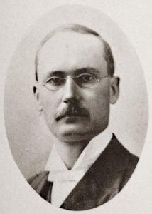 Dr. D.F. Malan, leraar van 1913 tot 1915.