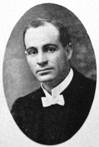 Ds. J.F. Mentz, leraar van 1922 tot 1925.