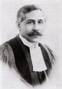 Ds. P.K. Albertyn, leraar van 1906 tot 1921.